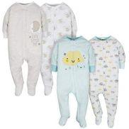 Baby Neutral Clouds y Elephant Sleep 'n Plays - pack x4