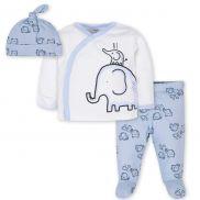 Conjunto de Elefante Baby Boy - Setx3