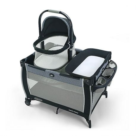 Graco Pack 'n Play Day2Dream Bassinet negro/azul