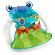 Asiento de piso Fisher-Price Frog Sit-Me-Up
