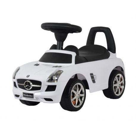 Mercedes Push Car balnco