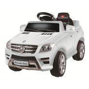 Carro a batería Mercedes ML-350 White 6V