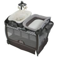 Corral Graco Napper Infant Bassinett gray